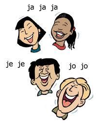 Personas riendo